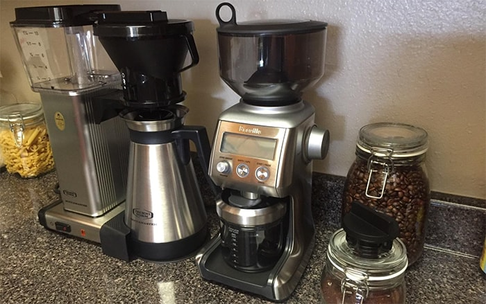 Breville BCG820BSSXL coffee grinder review