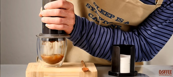 aeropress pressure brewing