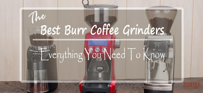 best burr coffee grinder featured image