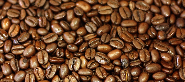 coffee beans and seeds