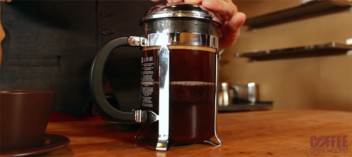 french press brewing method