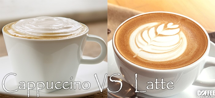 latte vs cappuccino comparison