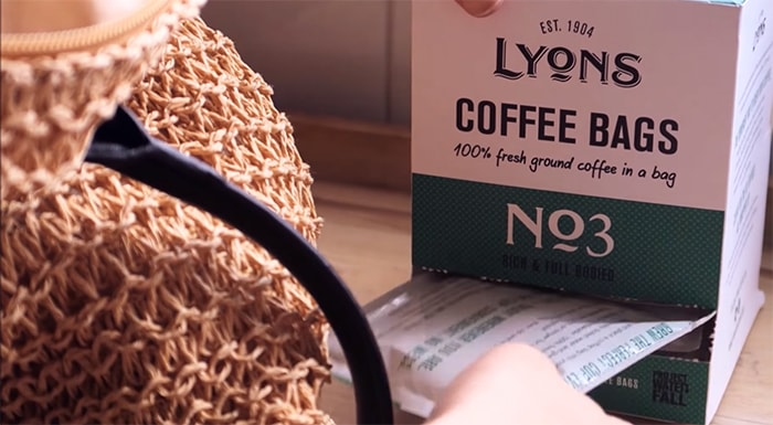 lyons coffee bags