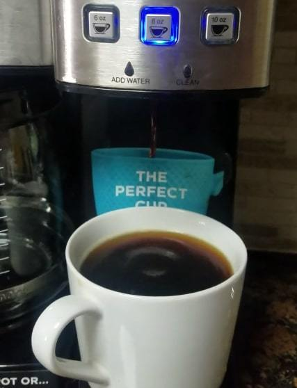 coffee maker with k cup option