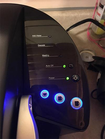 keurig k55 controls